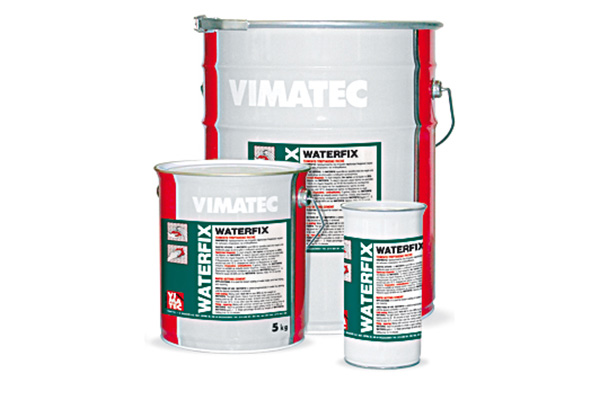 waterproofing materials-rapid setting cement-for instant sealing of water leaks-waterproofing of surfaces-fast repairs and fixings-mainly for concrete-waterfix
