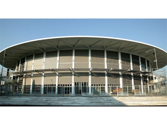 16.Basketball Stadium Alexandrio Melathro-Thessaloniki