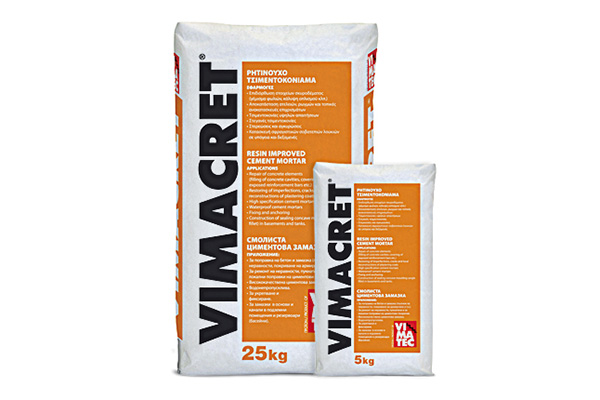 cement repairing mortar- with resin- dry-mix- vimacret