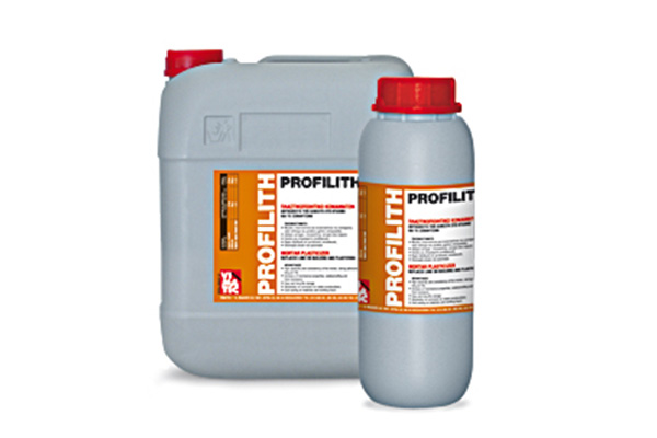 mortar plasticizer improvement- profilith