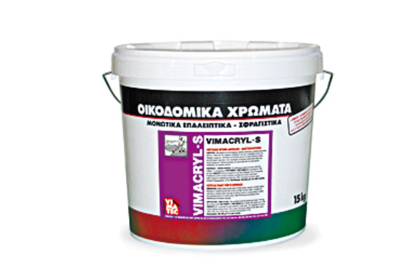 paint-protective & decorative-special requirement-reinforced-high strenghts-with acrylic resins-for all kind of building surfaces-high resistance to weathering & aging-paint of outdoor flooring-water diluted